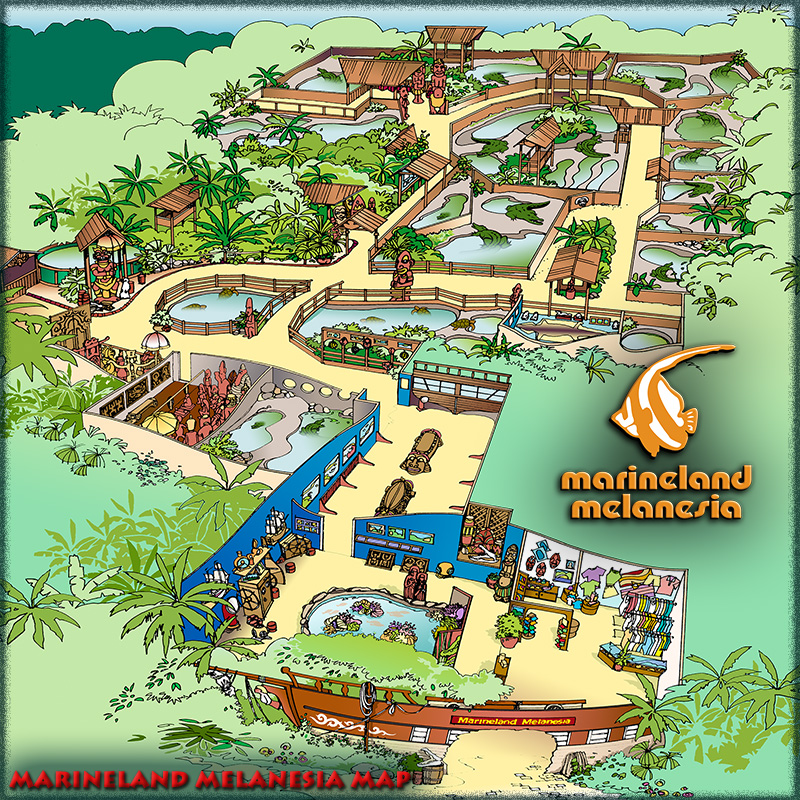 Marineland Melanesia Map